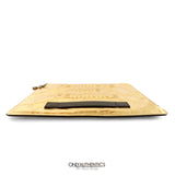Chanel Gold Foil Feministe Mais Feminine Folio Clutch