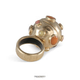Chanel Gold Orb Ring
