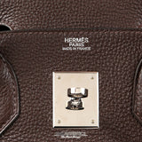 Hermès Chocolate Togo 30 cm Birkin Bag