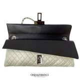 Chanel Metallic Pearl East West Reissue Bag