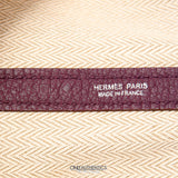 Hermès Violet All Leather Garden Party Medium Tote