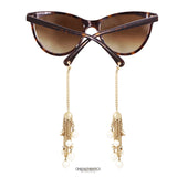 Chanel Tortoise Cat Eye Fantasy Sunglasses