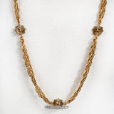 Chanel Gold Chain with CC Pendants