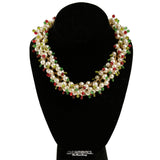 Chanel Gripoix Pearl Cluster Necklace season 26