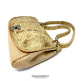 Chanel Mixed Media Snakeskin Flap Bag