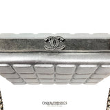 Chanel Silver Box Bag