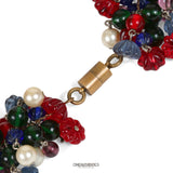 Chanel Gripoix and Pearl Tutti Frutti Vintage Necklace