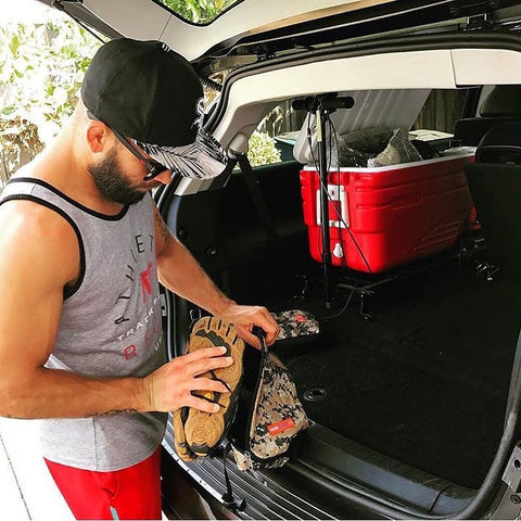 Jeremy Stephens packs with Solepack!