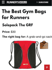 Runner's World features Solepack