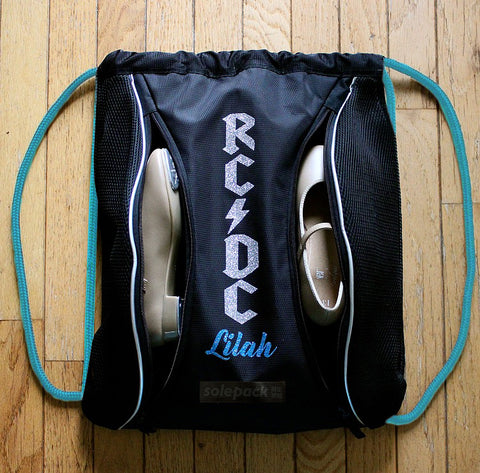 RHYTHM CENTRAL DANCE x SOLEPACK GRF [WITH PERSONALIZED NAME AT BOTTOM]