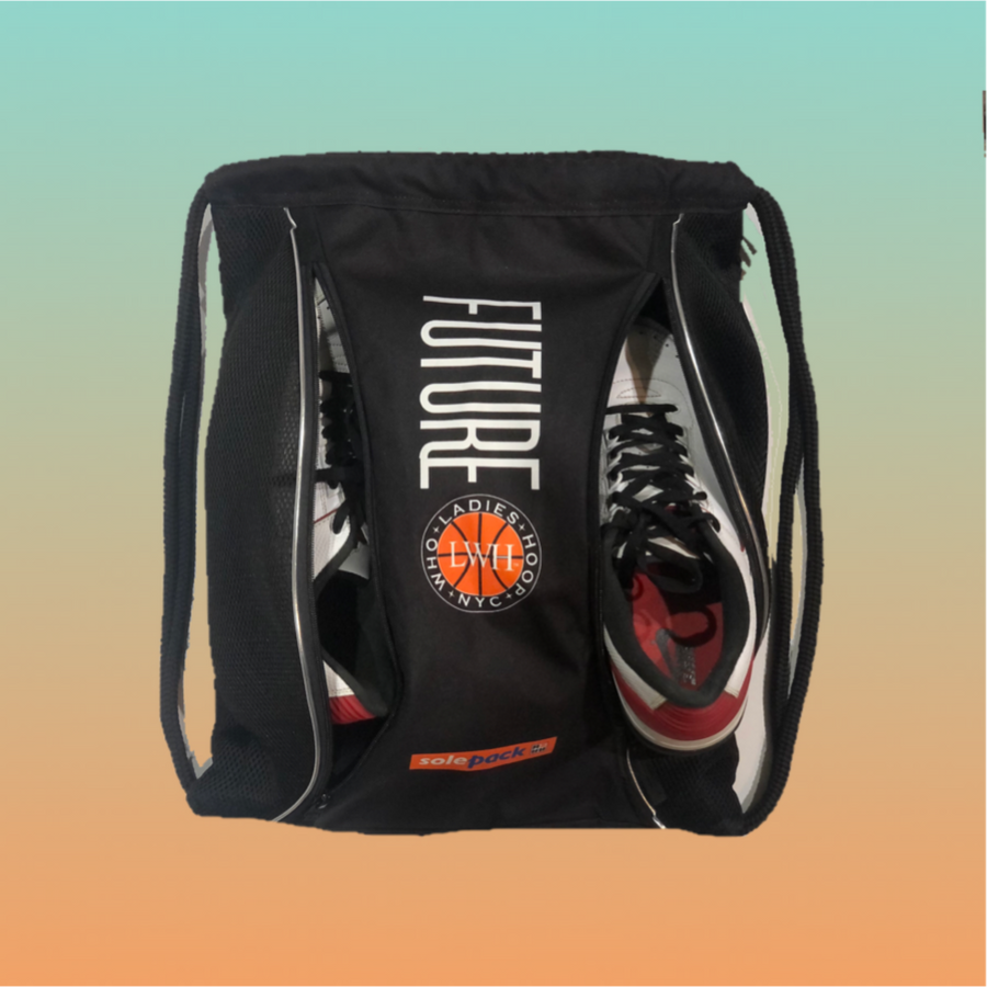 LADIES WHO HOOP GRF STRING BAG - Solepack