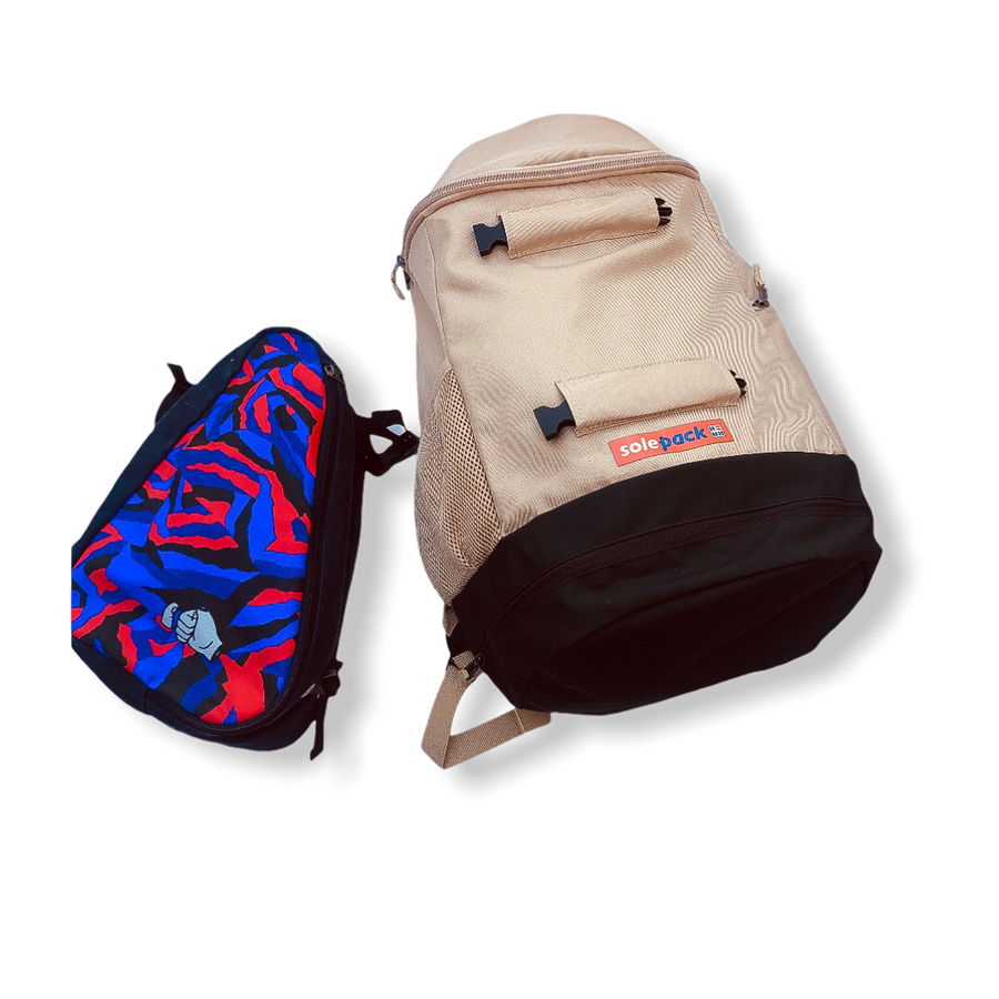 Cautious Optimism By Rich Tu x Solepack Backpack kit