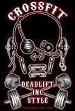 """CROSSFIT DEADLIFT INC STYLE"" Ladies' Tank Top"