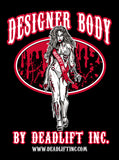 'Designer Body' - Ladies Racerback Tank Top