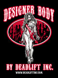 """DESIGNER BODY BY DEADLIFT INC"" Men's Tank Top"