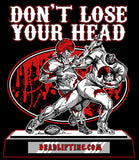 """DON'T LOSE YOUR HEAD"" Men's Tank Top"