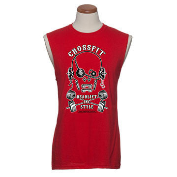 'Crossfit' - Mens Sleeveless