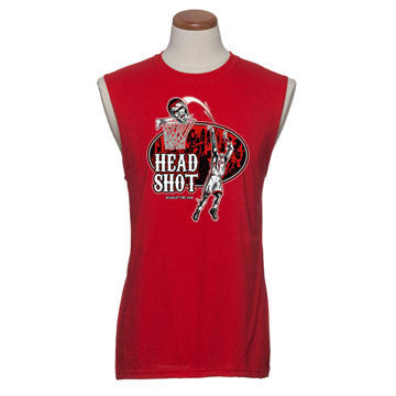 'Head Shot' - Mens Sleeveless