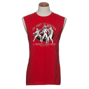 'Fencing' - Mens Sleeveless