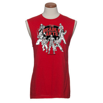 'The Deadly Arts' - Mens Sleeveless