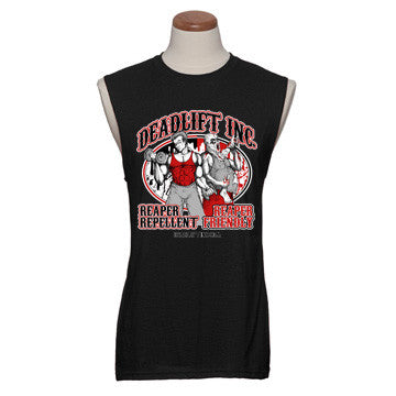 """REAPER REPELLENT...REAPER FRIENDLY"" Sleeveless"