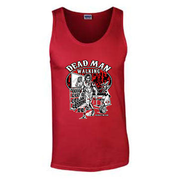 'Dead Man Walking' T-Shirt - Mens Tank Top