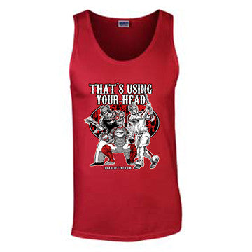 'Baseball' T-Shirt - Mens Tank Top