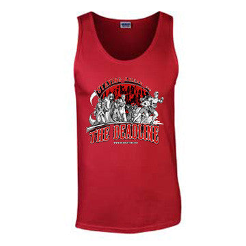'Deadline' T-Shirt - Mens Tank Top