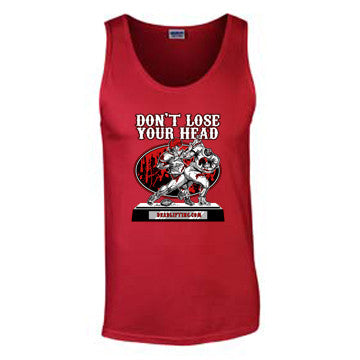 'Football' T-Shirt - Mens Tank Top