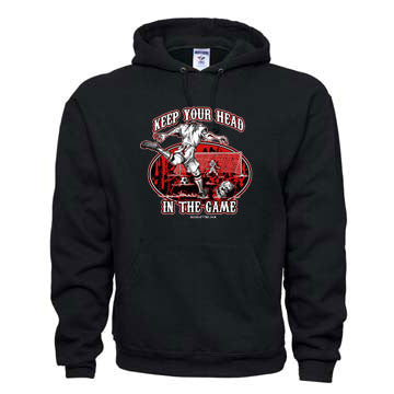 """KEEP YOUR HEAD IN THE GAME"" Hoodie Sweatshirt"