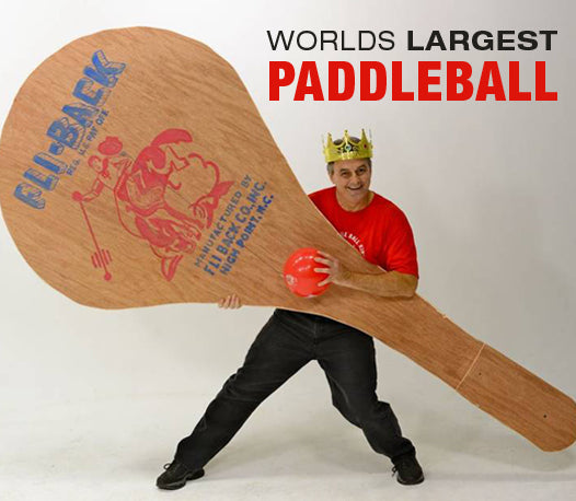 Worlds Largest Paddleball