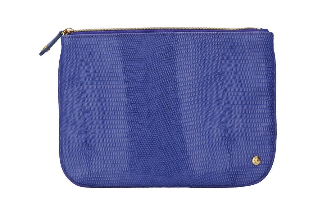 Large Flat Pouch - Galapagos Deep Purple