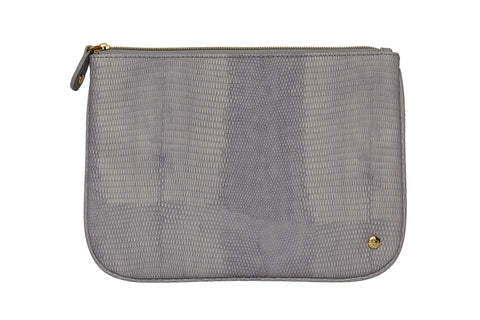 Large Flat Pouch - Galapagos Dove Grey