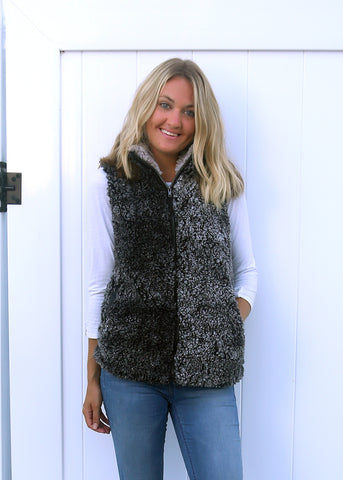 RTS Singles Luxe  Sherpa Vest
