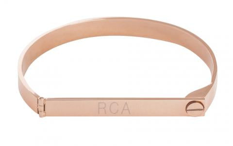 Lock It Up Rose Gold Bracelet