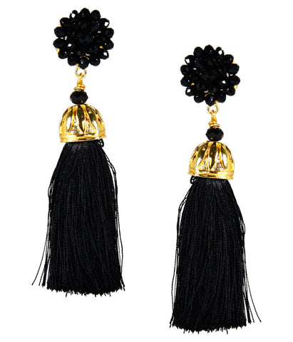 Black Coco Earrings