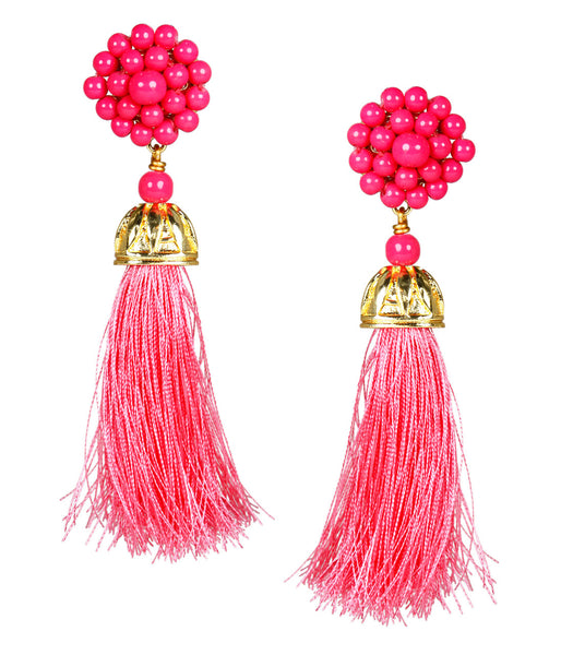 Hot Pink Coco Earrings