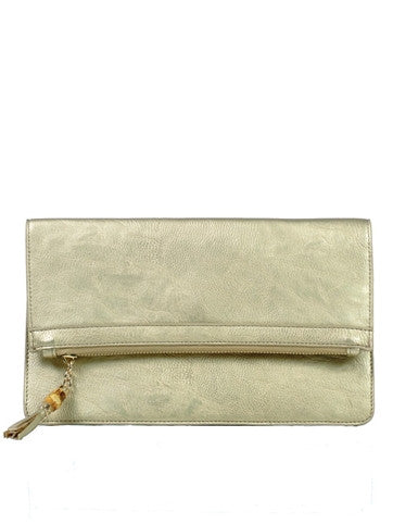 Gold Milan Clutch