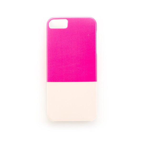 Hot Pink and Blush iPhone 6 case