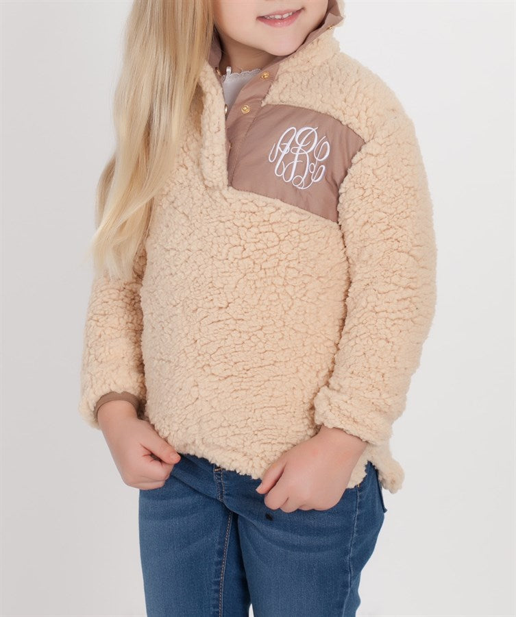 Kids Sherpa Pullover - $14.50 x 10 Pack