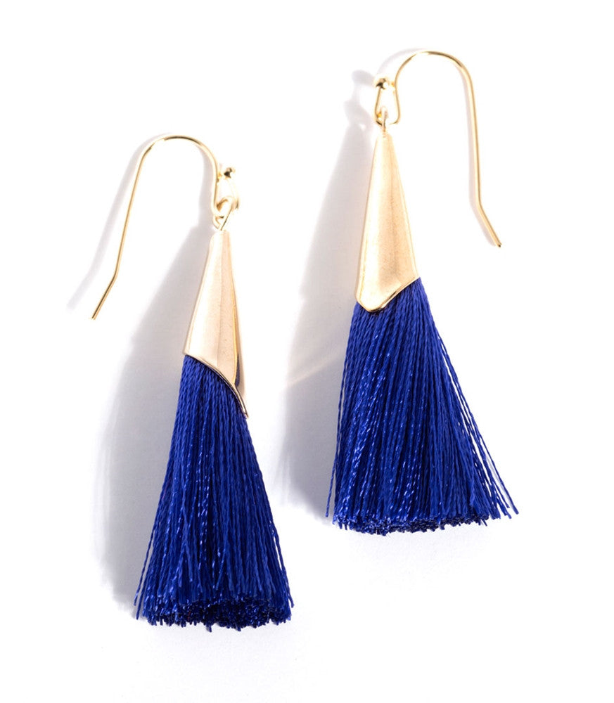 Tallulah Earrings - Blue