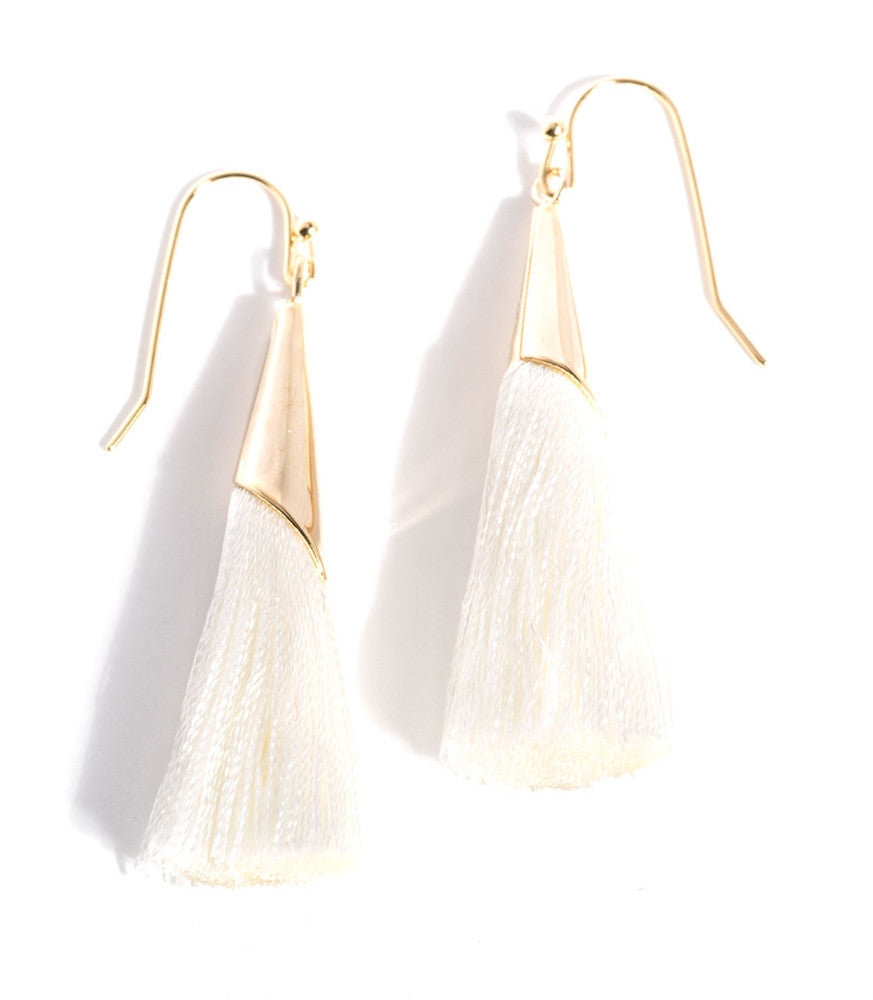 Tallulah Earrings - White