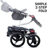 Bag Boy Compact 3 Push Cart - 2018