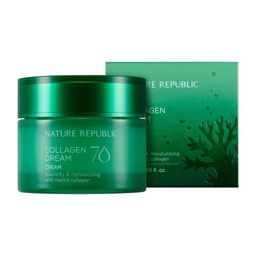 Mr. Song Millinery Collagen Dream 70 Cream - Nature Republic
