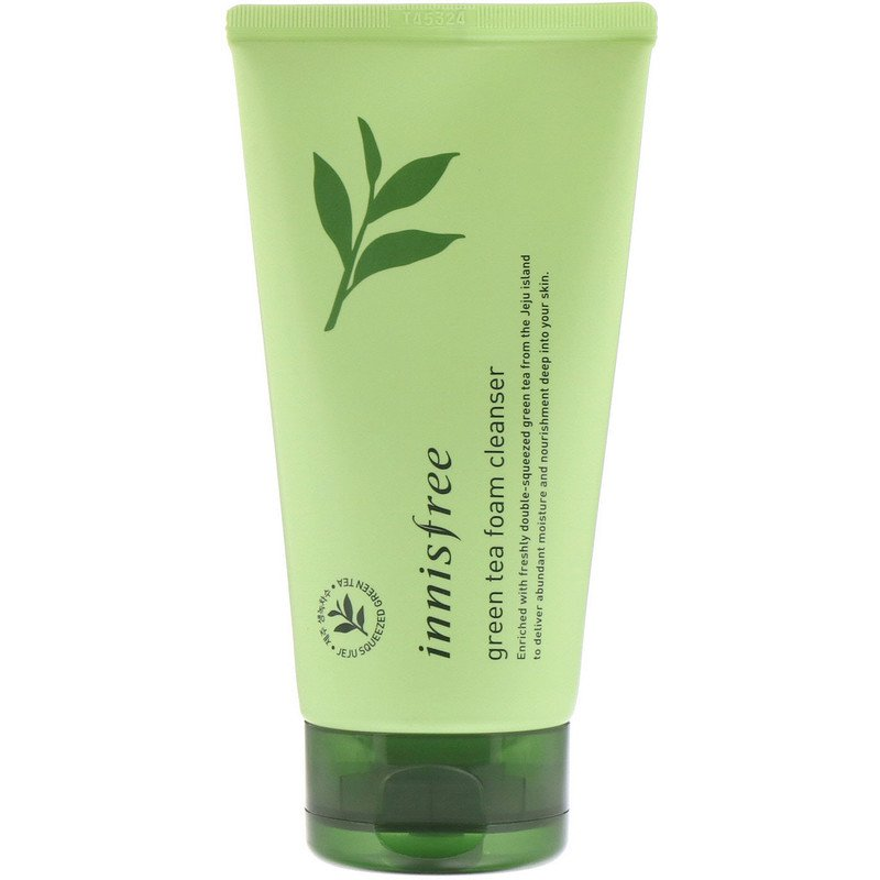 Mr. Song Millinery Green Tea Foam Cleanser - Innisfree