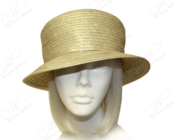Mr. Song Millinery All- Season Satin-Crin Small Brim Hat Body - Assorted Colors