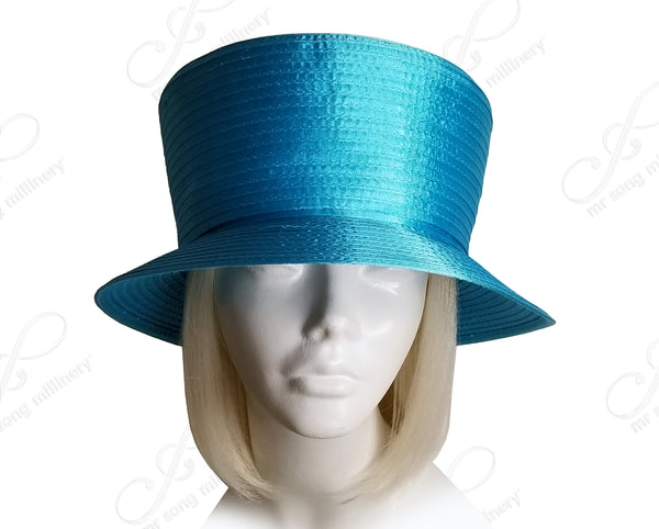 All- Season Satin-Crin Small Brim Hat Body - Assorted Colors