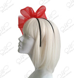 Kentucky Derby Crin Mulit-Loop Fascinator Headpiece - 2 Colors