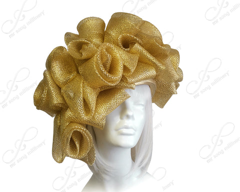 Crin Hair Roesette Hat - 2 Colors