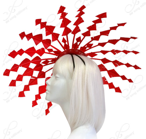 Starburst Umbrella Fascinator - 2 Colors